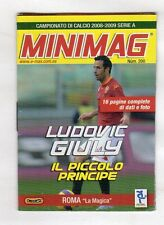 MINIMAG CAMPIONATO 2008-2009 - ROMA N. 200 LUDOVIC GIULLY