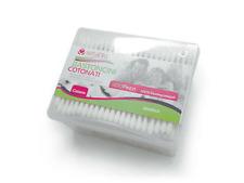 12 Conf. (3600 Cotton Fioc Orecchie) Setablu Bastoncini Cotonati Biodegradabili