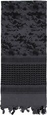 Subdued Digital Camouflage Shemagh Heavyweight Tactical Desert Keffiyeh Scarf