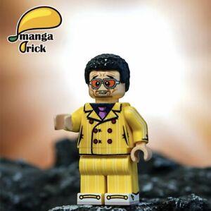 ⎡MANGA BRICK⎦ Custom One Piece Borsalino Lego Minifigure