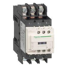 Schneider LC1D50A6BD TeSys D contactor 3P(3 NO), 50A, 24VDC standard coil