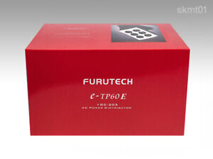 FURUTECH e-TP60 AC Power supply noise absorption distributor from Japan DHL NEW