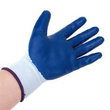 1Pair Unisex Resistant Safety Protective Gloves Proof Work Garden Palm Coating B