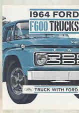 1964 Ford F600 Truck Brochure Australia wu4294