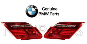 For BMW E65 E65 7-Series 745i 750Li Pair Set of 2 Rear Inner Tail Lights Genuine