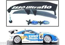 New Scalextric W9299 Toyota Supra Rear Wing, Spoiler, Mirrors & Aerial (C2719)
