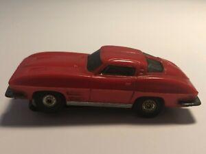 "Vintage Aurora '63 Corvette ""Sting Ray"" #1356 ""RED"" HO Slot Car"