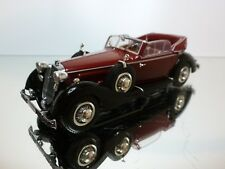 MINICHAMPS    HORCH 853 CABRIOLET RED  BLACK  -   1:43 - EXCELLENT - 18