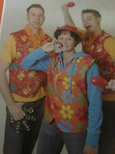 50x  Kostüm Karneval Weste + Sweatshirt Männer Frauen Fasching Wurfmaterial NEU
