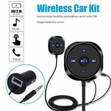 Bluetooth Audio Receiver KFZ Adapter AUX Kabel Auto 3.5mm Klinke Empfänger NEU