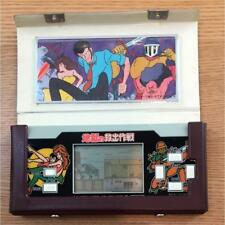 LUPIN THE 3RD Third Epoch 1984 LCD Game Watch Handheld w/original case Japan #2