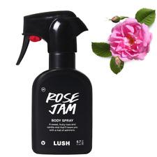 Lush Rose Jam Body Spray - sweet fruity rose & vanilla scented mist - Full Size