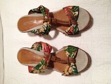 SPERRY TOP SPIDER- FLORAL SLIPPERS - 7.5