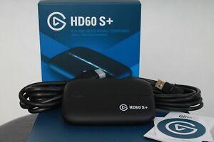 Elgato HD60 S+ Capture Karte für Aufnahme in 1080p60 HDR10 USB 3.0
