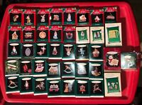 Lot of 40 Hallmark Keepsake Christmas Ornaments MIB Miniatures Collectors Seties