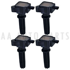 Ignition Coil 4PCS UF670 For 12-15 Ford Explorer L4 2.0L & 14-16 Fiesta L3 1.0L