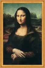 Mona Lisa Leonardo da Vinci Louvre Paris Lächeln LW Alte Meister A2 018