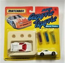 Matchbox Super Graffic Traffic Metal Flakes - New In Package