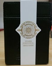 Titans & Robbers Deluxe Edition Playing Cards with leather case