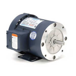 Leeson Electric Motor 110181.00 1 HP 3450 Rpm 3PH 230/460 Volt 56C Frame