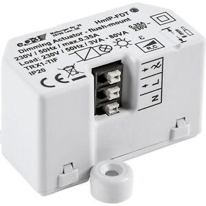 Homematic IP Smart Home Dimmaktor Unterputz HmIP-FDT – Phasenabschnitt