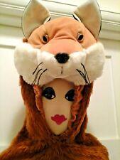 Fox Adult Fancy Dress Animal Costume Panto Stage Hire Quality Marathon