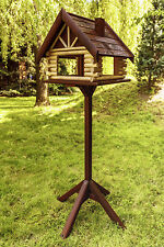 New Exclusive Large Wooden Bird Table  House Bird Feeder & Feeding House