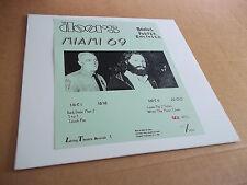 the Doors - Live in Florida 1969  #'77 of 100 copies  w/ poster RED vinyl NM