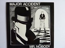 "MAJOR ACCIDENT MR NOBODY 7"" SINGLE WHITE VINYL MASSACRE RECS MAME002"