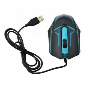 Souris Gamer Filaire 130cm Optique 3 Boutons Gaming Jeu 1200 DPI Mouse PC