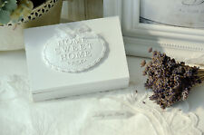 Holzschachtel Schatulle Holzbox Holzdose Shabby Chic Vintage Landhaus Bad