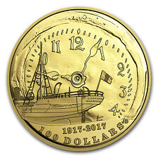 2017 Canada Gold $100 Centennial of the Halifax Explosion