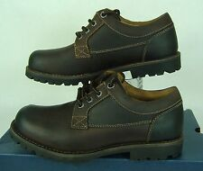 """New Mens 8.5 GH BASS """"Dennis"""" Brown Heavy Leather Dress Shoes Boots $199"""