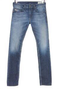 DIESEL THAVAR 0827K STRETCH Slim Skinny Jeans Men Size W32 L34 DZ754
