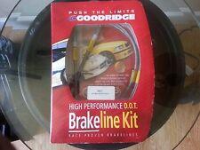 Goodridge 39001 SS Brake Line Kit fit Volkswagen Cabriolet 84-93 Golf 85-92