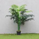 Large 130cm Artificial Palm Tree Topiary Tropical Fake Plants In/Outdoor Garden