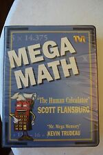 MEGA MATH Scott Flansburg (The Human Calculator) Workbook, Cassettes, Video