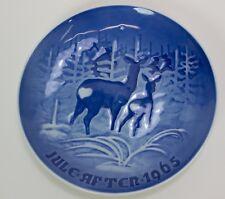 Vintage Collector Plate By H. C. Anderson & Kjodenhavn, 1965 Deer Christmas