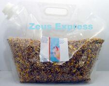 Bird Pigeon seed mixture 10 Lb Lower Protein -Reclean Milo Dent Corn Wheat Peas