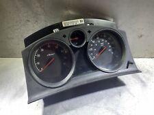 Vauxhall Zafira mk2  INSTRUMENT CLUSTER DASHBOARD SPEEDOMETER (138794) on clocks