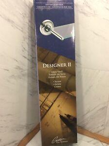 19.25 in. x 2.75 in. H x 22.5 in. W Vanity Bathroom Shelf in Chrome Designer II