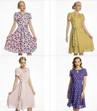 369e057b1b44 Lindy Bop Bretta Rockabilly Swing Day Tea Dress 14-22