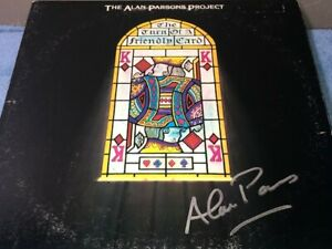 Alan Parsons Signed Autographed The Turn Of A Friendly Card Record Album LP