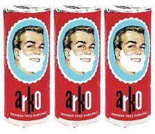 3 Arko Shaving Soap Stick 70 gm (set of 3) - FAST Shipping - USA Seller