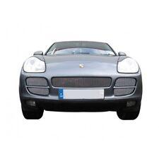 Zunsport polished silver mesh front grille set Porsche Cayenne 02-08