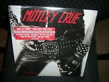 MOTLEY CRUE ***Too Fast for Love **BRAND NEW RECORD LP VINYL