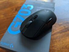 Logitech - G703 (Hero) Wireless Optical Gaming Mouse - Black