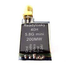 TS5823L 5.8Ghz 200mW 40Ch Audio Video Transmitter w/ LCD RaceBand FPV Racing