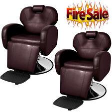 OEM BarberPub Hydraulic Recline Barber Chair Salon Beauty Spa Styling Equipment