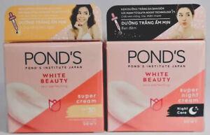 Whitening Cream Ponds Couple day n night 50gx2,healthy White Bleach Dark Spots